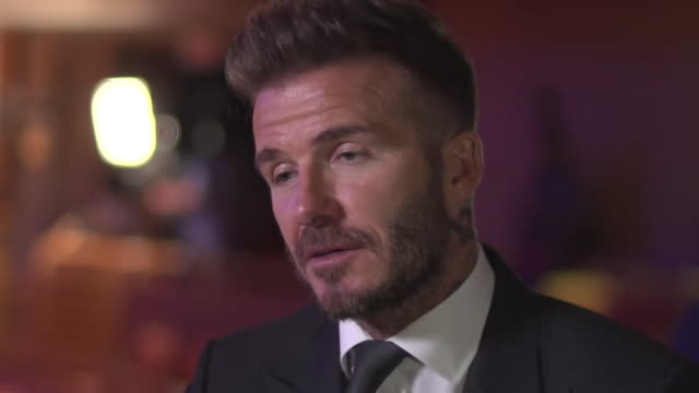 David Beckham saying his role as owner of the new MLS franchise in Miami will be to add his expertise and bring talented players to the team
