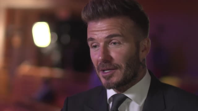 David Beckham saying there were moments his dream of owning an MLS 'didn't look like happening' but that 'he doesn't like to lose'