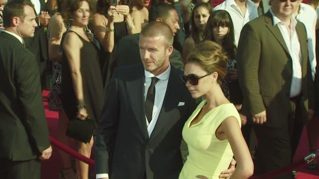 David Beckham Victoria Beckham at the 2008 ESPY Awards at Los Angeles CA