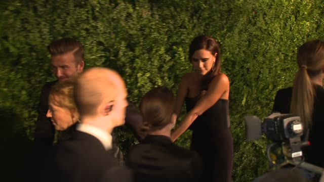 david beckham, victoria beckham, eddie redmayne, tom hiddleston, rob brydon, steve coogan at 60th london evening standard theatre awards 2014 on 30th... - steve coogan stock videos & royalty-free footage