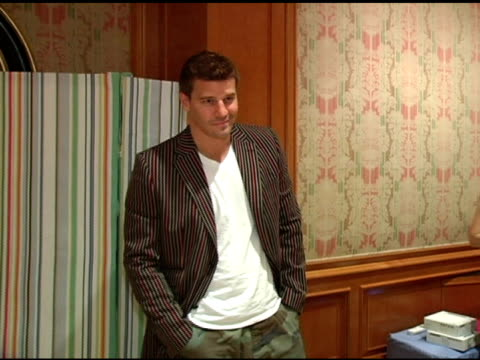 David Boreanaz at the 2nd Annual Lucky/Cargo Club Celebration of Upfront Week on May 18 2005