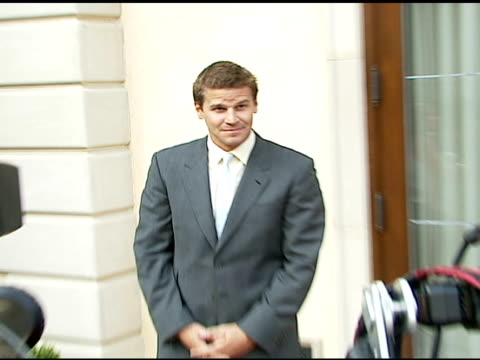 David Boreanaz at the Chrysalis' Fifth Annual Butterfly Ball at Private residence in Bel Air California on June 10 2006