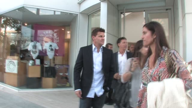 David Boreanaz at The Paley Center for Media in Beverly Hills on 5/9/2011