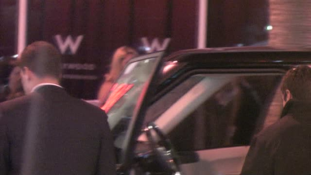 David Boreanaz at W Hotel in Hollywood at the Celebrity Sightings in Los Angeles at Los Angeles CA