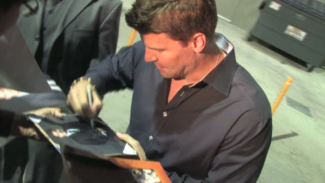 David Boreanaz in Hollywood 03/15/11 at the Celebrity Sightings in Los Angeles at Los Angeles CA