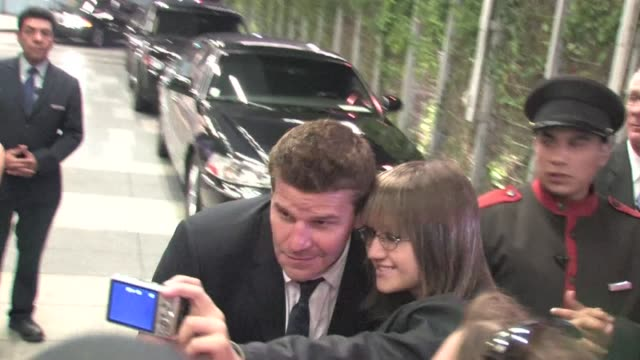 David Boreanaz leaving The Hollywood Agency 2012 People's Choice Awards in Celebrity Sightings in Los Angeles