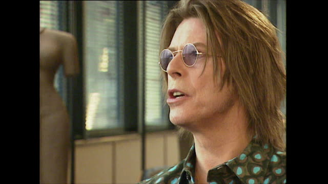 David Bowie doesn't like to buy objects except art