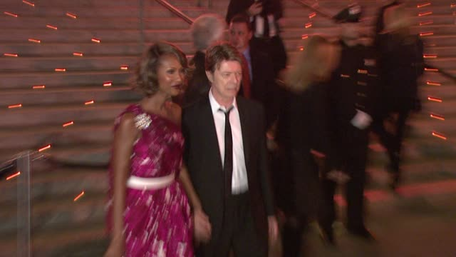 David Bowie Iman at the 7th Annual Tribeca Film Festival Vanity Fair Party at New York NY