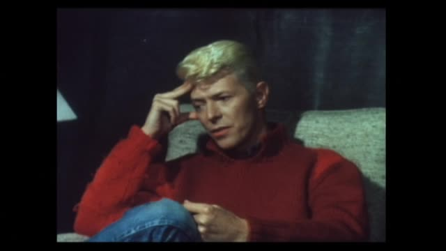 David Bowie interviewed in 1983 about his plans for the next year involving some directing work once the world tour is completed