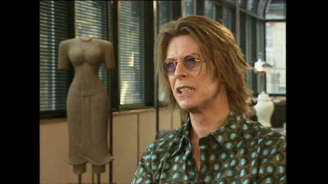 david bowie on the concept of 'cool britannia' saying 'it's so clichéd and silly ineffective i think' - mischief stock videos & royalty-free footage