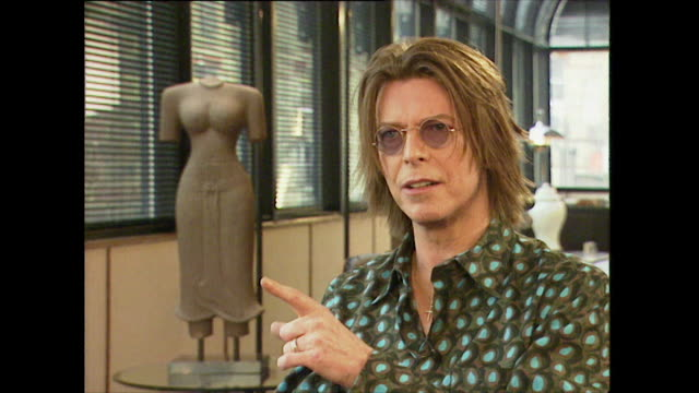 David Bowie on the internet taking over music's role of being 'rebellious' and 'subversive'