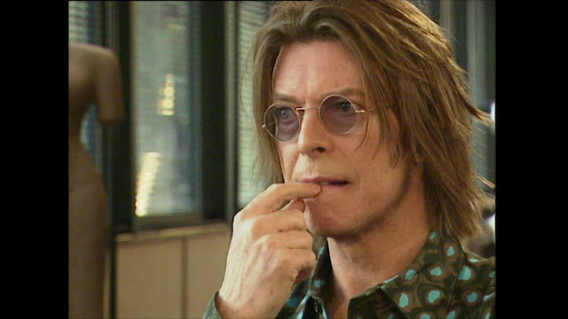 david bowie on wanting to move back to the uk - rocking stock videos & royalty-free footage