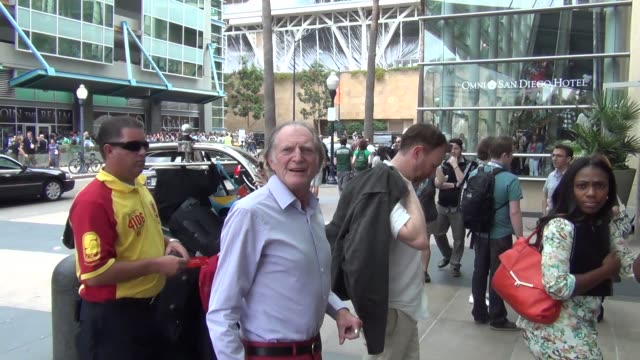 David Bradley talks about Game Of Thrones on streets of San Diego Comic Con at Celebrity Sightings ComicCon International 2013 Celebrity Sightings...