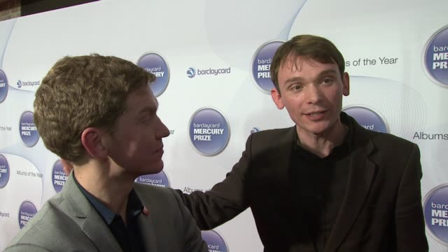 david brewis and peter brewis of field music on the effect of the nomination on the sales of their album and on being judged by the jury at... - mercury music prize stock-videos und b-roll-filmmaterial