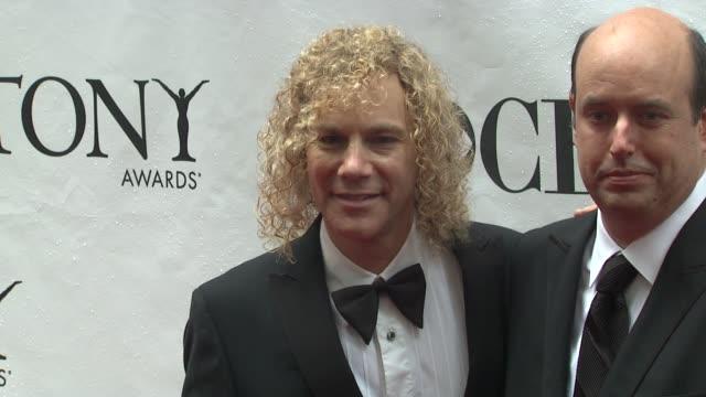 David Bryan and guests at the 64th Annual Tony Awards at New York NY
