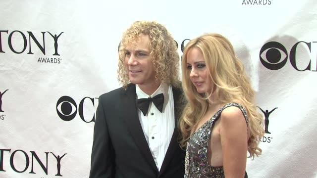 David Bryan and wife April McLean at the 64th Annual Tony Awards at New York NY
