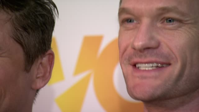 David Burtka and Neil Patrick Harris at The Trevor Project's 2014 TrevorLIVE Event Honoring Arianna Huffington at Marriott Marquis Hotel on June 16...