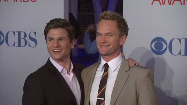 David Burtka Neil Patrick Harris at 2012 People's Choice Awards Arrivals on 1/11/12 in Los Angeles CA