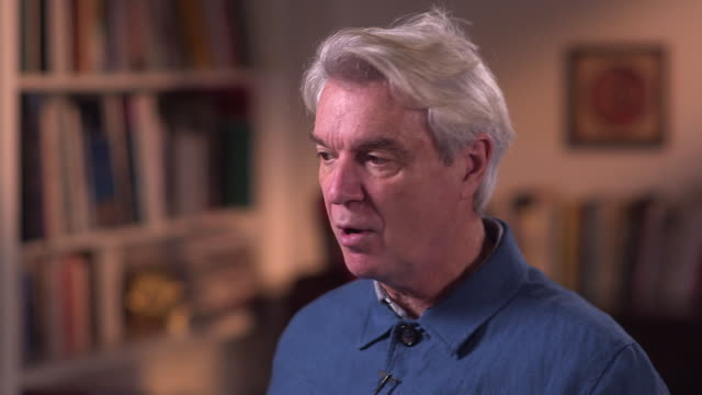 david byrne always tells his live audience about the importance of high voter turnout in the us - brian eno stock videos & royalty-free footage