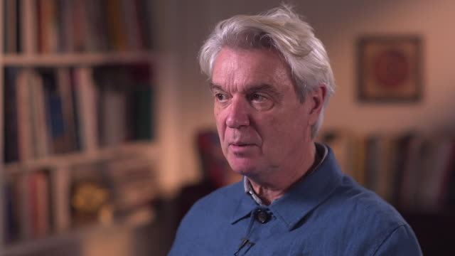 david byrne believes he 'owes it to the audience' to play updated versions of his music live - brian eno stock videos & royalty-free footage