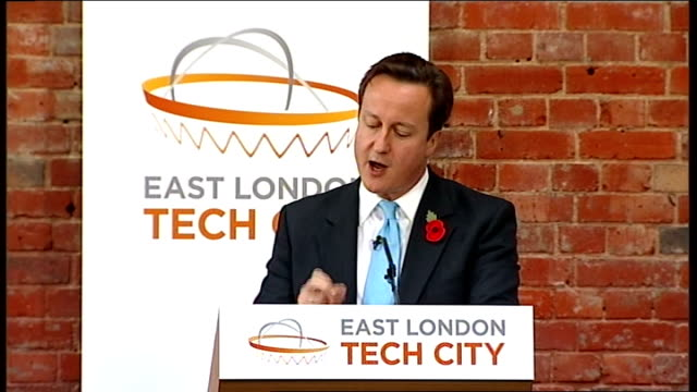 david cameron and boris johnson speeches; david cameron speech continued sot ten days ago, when i set out the coalition's strategy for growth at... - big tech stock videos & royalty-free footage