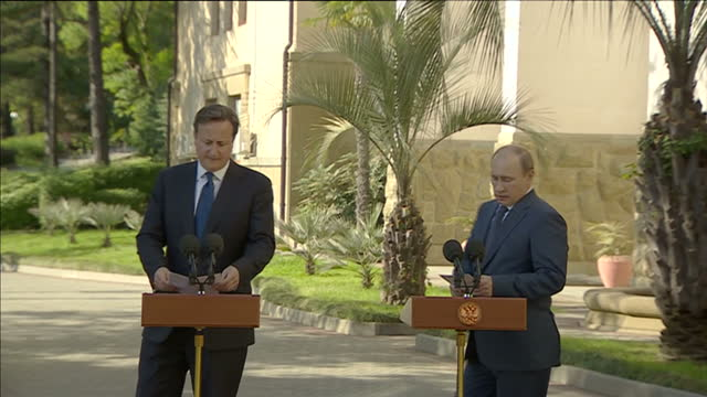 david cameron and russia's president vladimir putin have insisted that they share the same desire to bring an end to the violence in syria. the pair... - desire stock videos & royalty-free footage