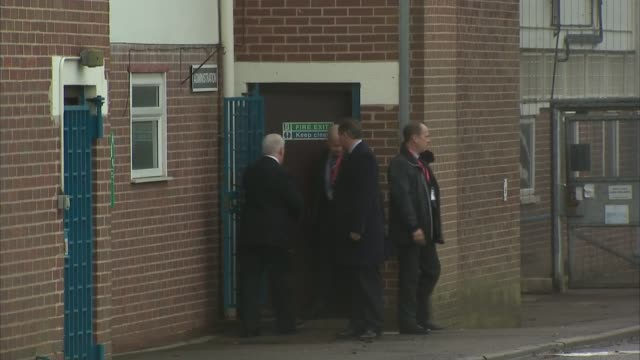 david cameron announces prison reforms england west midlands rugby hmp onley david cameron mp leaving prison after visit cameron along with prison... - leaving prison stock videos & royalty-free footage