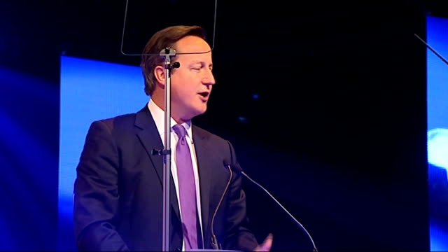 david cameron attends british curry awards 2013; england: london: battersea park: int int david cameron mp being shown around kitchen / cameron... - battersea park stock videos & royalty-free footage