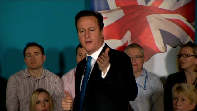 David Cameron attends PM Direct event in Maidenhead David Cameron QA session SOT [What coaching would you give a small business that is starting up]...