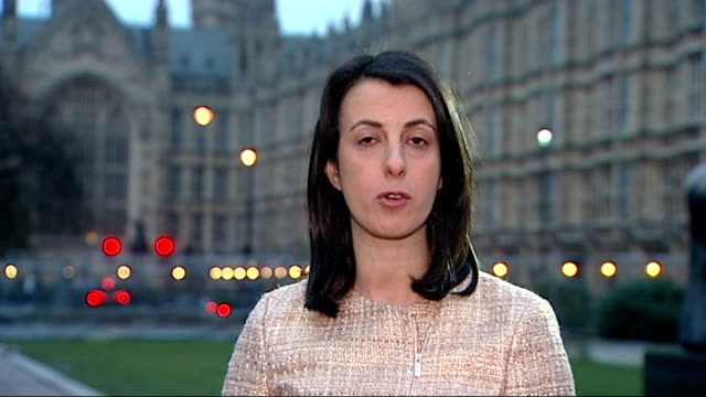david cameron backs andrew lansley over nhs reforms / simon hughes calls for his replacement westminster ext reporter to camera - replacement stock videos and b-roll footage
