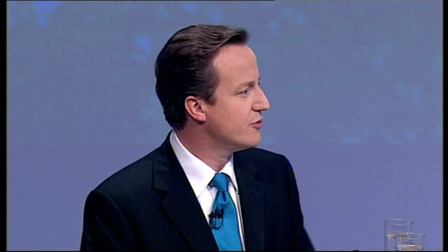 david cameron closing speech of conservative party conference 2007; david cameron mp speech sot - thank you / two years ago i stood on this stage and... - teleprompter stock videos & royalty-free footage
