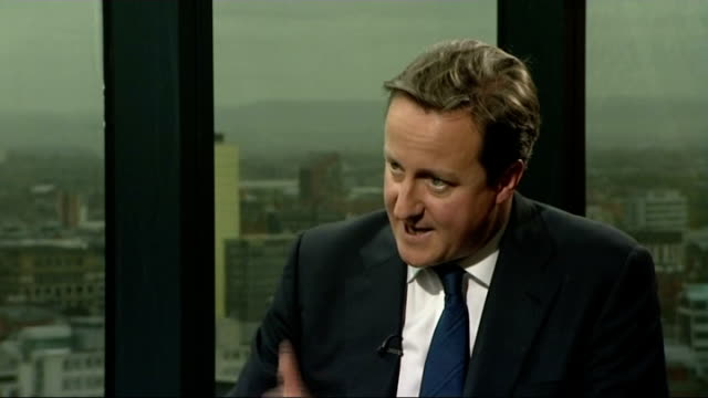 david cameron interview at the conservative party conference cameron interview sot on amending the human rights act good prospect of this working we... - human back stock videos & royalty-free footage
