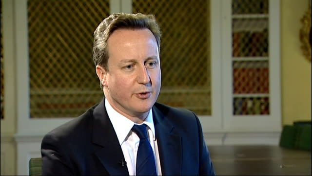 david cameron interview on the 'big society'; england: london: int david cameron mp interview sot - there are a lot of tory mps who see exactly what... - all around competition stock videos & royalty-free footage