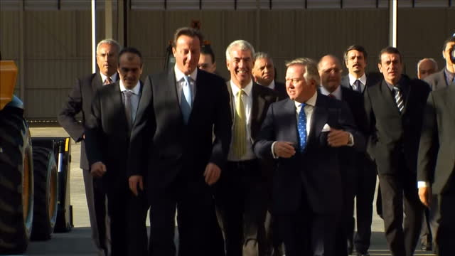 david cameron is expected to sign trade deals worth during his two-day visit to brazil this week, highlighting the prime minister?s push to forge... - größter stock-videos und b-roll-filmmaterial