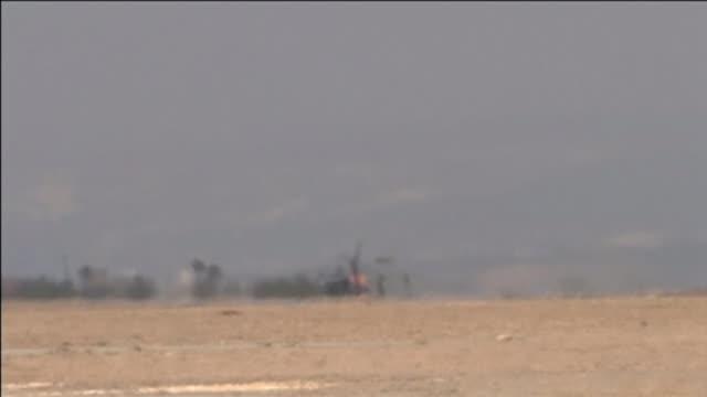 david cameron knew raf pilots were involved in airstrikes in syria tx ext royal air force tornado jet along runway and taking off air crew raf pilots... - 武力攻撃点の映像素材/bロール