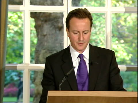 david cameron monthly press conference last week i met the deputy prime minister of iraq and jon quay leader of opposition party in new zealand/ will... - david cameron politician stock videos & royalty-free footage