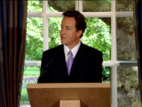 David Cameron press conference on Iran ENGLAND London Westminster INT David Cameron MP press conference SOT Good morning everyone / The question of...