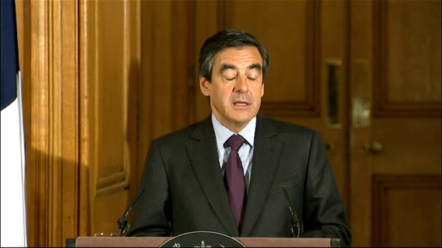 david cameron press conference with french prime minister francois fillon press conference sot we share the rhythm of those meetings/ the quality of... - rhythm stock videos and b-roll footage