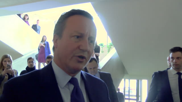 David Cameron saying what matters now is that 'we have a successful negotiation and try and maintain a close relationship between Britain and the...