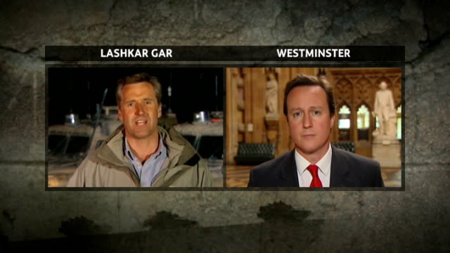 david cameron says government has broken the military covenant; int david cameron mp 2-way interview from westminster sot - on what can be done to... - 証書点の映像素材/bロール