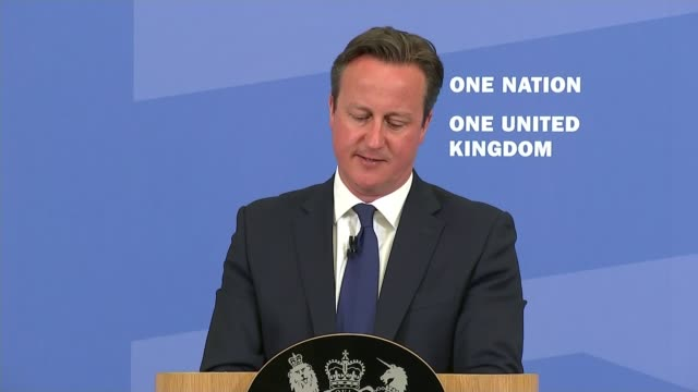 david cameron sets out new measures to tackle extremism; david cameron continued sot - it is a vicious, brutal and fundamentally abhorrent existence... - creation stock videos & royalty-free footage
