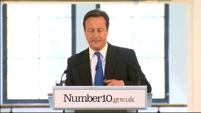 david cameron speech at 'big society' launch david cameron speech sot the rule of this government should be this if it unleashes community engagement... - youth club stock videos & royalty-free footage