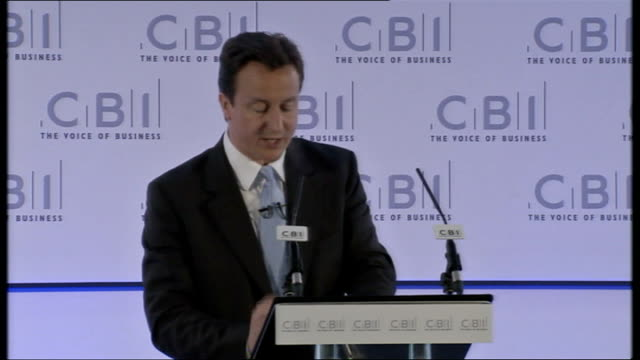 david cameron speech at cbi just as we took action for banks so too should we take the appropriate action to help all businesses in these difficult... - liquidation stock videos and b-roll footage