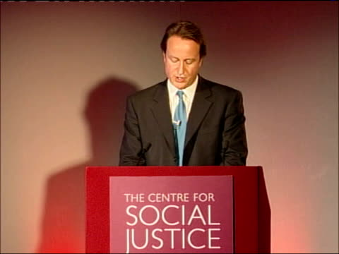 david cameron speech at the centre for social justice and that brings me to the third point i wanted to make today / to tackle youth crime and... - social justice concept stock videos & royalty-free footage