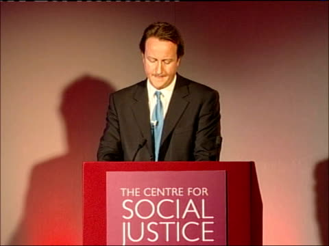 david cameron speech at the centre for social justice; - the first thing is to recognise that we'll never get the answers right unless we understand... - aggression stock videos & royalty-free footage