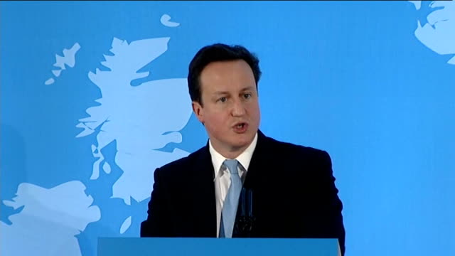 vídeos de stock, filmes e b-roll de david cameron speech at uk nordic baltic summit david cameron speech sot on the purpose of the conference / nordic and baltic countries / action of... - vanguardista