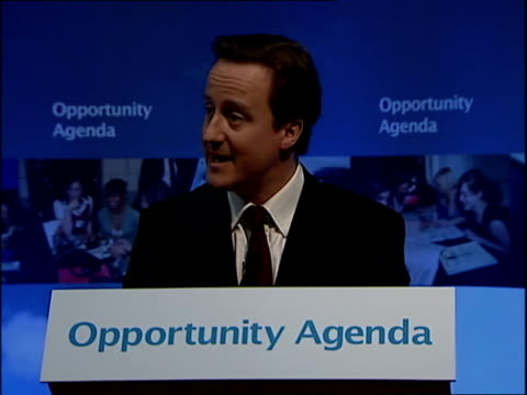 david cameron speech launching schools policy at mossbourne academy; now, i know that not everyone will agree with this approach, some will say that... - all around competition stock videos & royalty-free footage