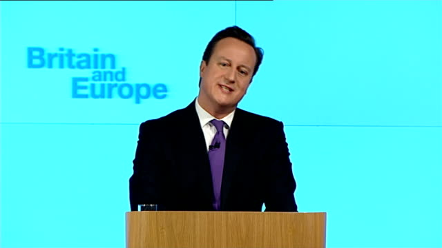David Cameron speech on Europe Cameron speech SOT My fourth principle is democratic accountability we need to have a bigger and more significant role...