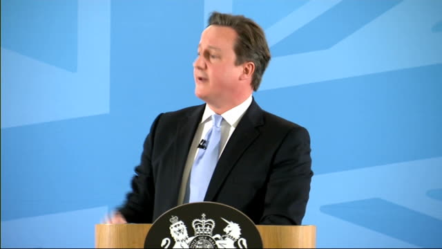David Cameron speech on immigration David Cameron Question Answer QA session SOT including question whther Boris Johnson is in line to become Prime...