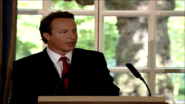 david cameron speech on islamic terrorism threat in the uk; - our recognition of the need to bolster democracies abroad does not mean that we endorse... - fundamentalism stock videos & royalty-free footage